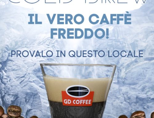 GD COFFEE Cold Brew – Il vero caffè freddo!