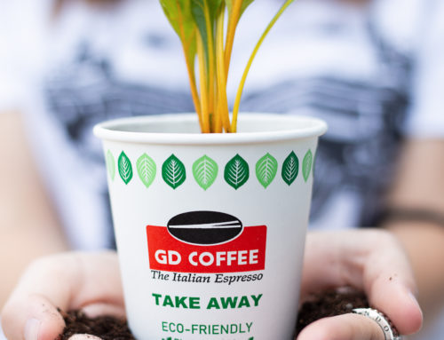 La nostra linea GD COFFEE take away è #plasticfree